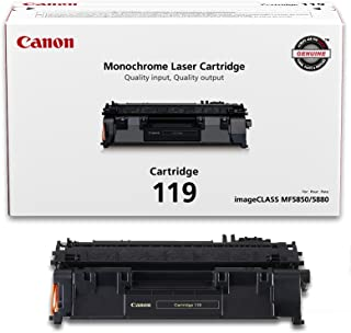 $84 » Genuine Toner, Cartridge 119 Black (3479B001), for imageCLASS MF5800 /5900/6100 Series, MF410 Series, LBP6300 / 6600 Series, LBP250 Series Laser Printers