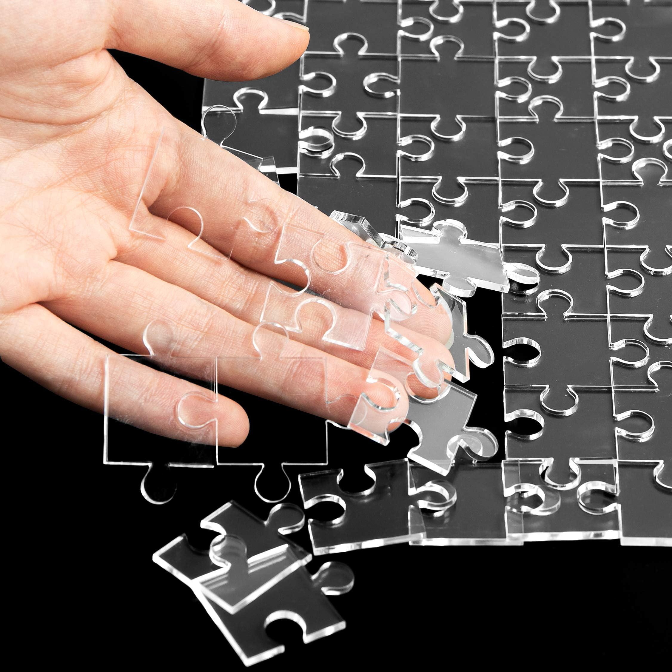 Acryl transparentes Puzzle Puzzle Acryl 108 Stück