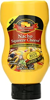 Old Fashioned Cheese Nacho Squeeze Cheese, 11.5 Ounce