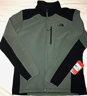 The North Face Men's Apex Pneumatic Jacket, Spruce Green/TNF Black, LG