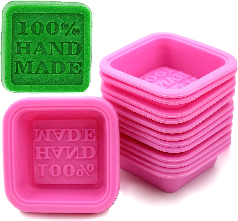 FIVOENDAR 20-Pack DIY Handmade Soap Molds Popularity Baking New products world's highest quality popular Cupca