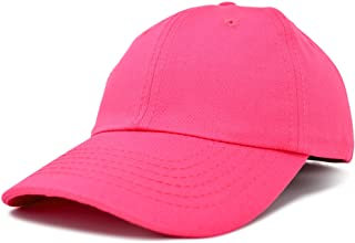 Baseball Cap Dad Hat Plain Men Women Cotton Adjustable Blank Unstructured Soft