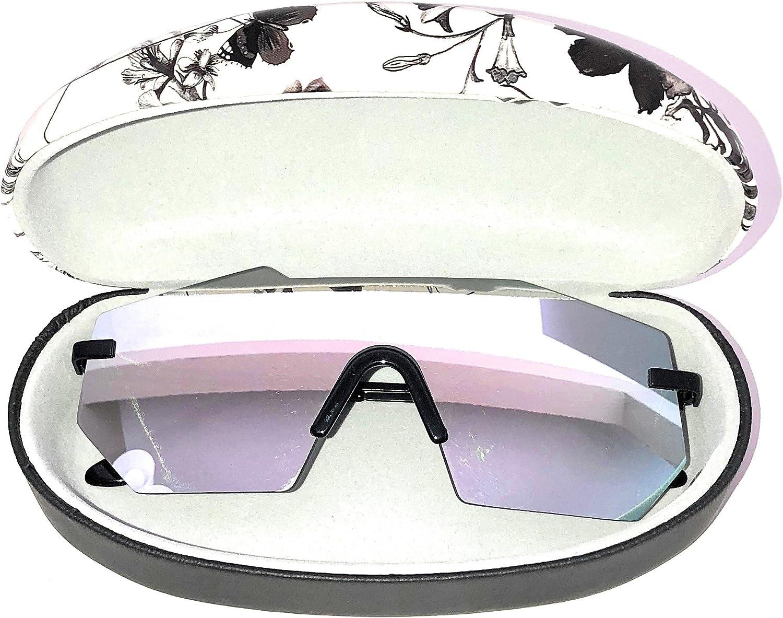GLASSING, sunglasses GPJUNGLE, one piece glass, titanium ITALIAN SUNGLASSES