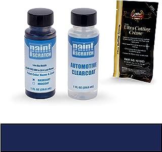 PAINTSCRATCH Loire Blue Metallic 942/JBM for 2014 Land-Rover Evoque - Touch Up Paint Bottle Kit - Original Factory OEM Automotive Paint - Color Match Guaranteed