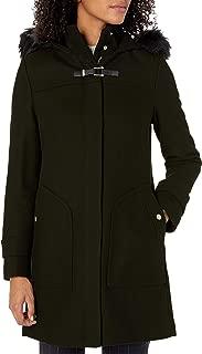 Best women's wool coat with fur hood Reviews