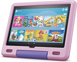 Das neue Fire HD 10 Kids-Tablet│ Ab dem Vorschulalter | 25,6 cm (10,1 Zoll) großes Full-HD-Display (1080p), 32 GB, kindgerechte Hülle in Lavendel