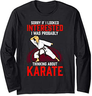 Machida Karate Long Sleeve T-Shirt