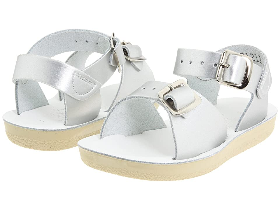 Salt Water Sandal by Hoy Shoes Sun-San Surfer (Toddler/Little Kid) (Silver) Girls Shoes