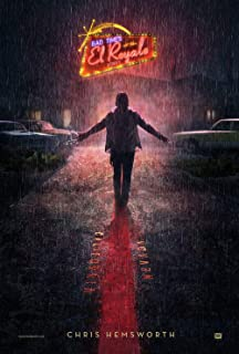 Kirbis Bad Times at The El Royale Movie Poster 18 x 28 Inches