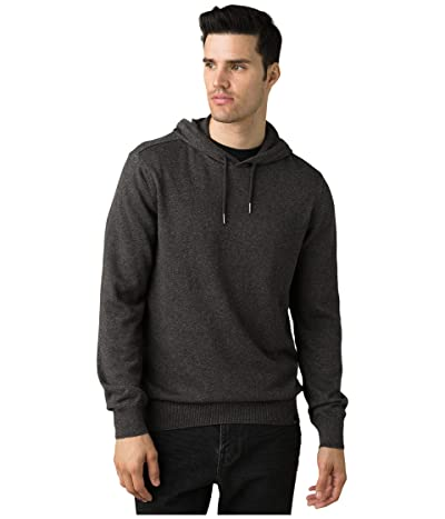 Prana Kaola Hooded Sweater (Charcoal) Men