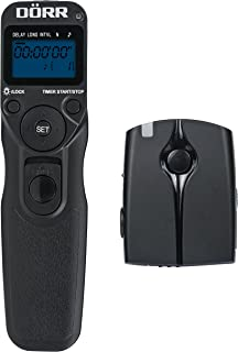 Dorr SRT-100 Wireless Remote Release with Timer for Canon C3 - Black