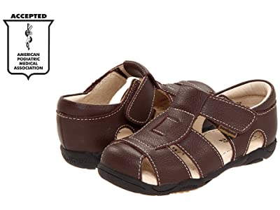 pediped Sydney Flex (Toddler/Little Kid) (Chocolate Brown) Boy