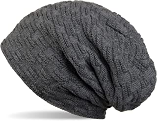 styleBREAKER Warm Knitted Beanie Hat with Braided Design and Soft Fleece Lining, UNISEX 04024058