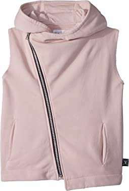 Nununu - Hooded Diagonal Vest (Little Kids/Big Kids)