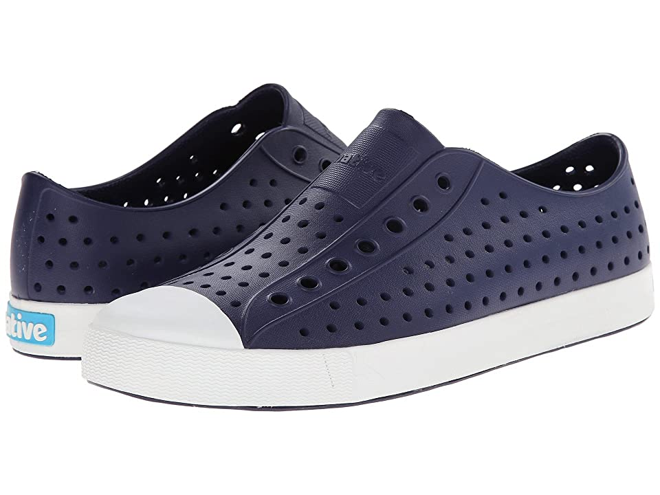 Native Shoes Jefferson (Regatta Blue/Shell White) Shoes