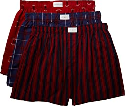 Tommy Hilfiger - 3-Pack Cotton Classics Woven Boxer