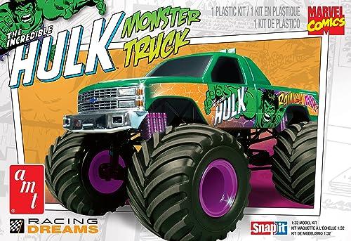 1 32 Monster Truck Hulk (Snap Kit)