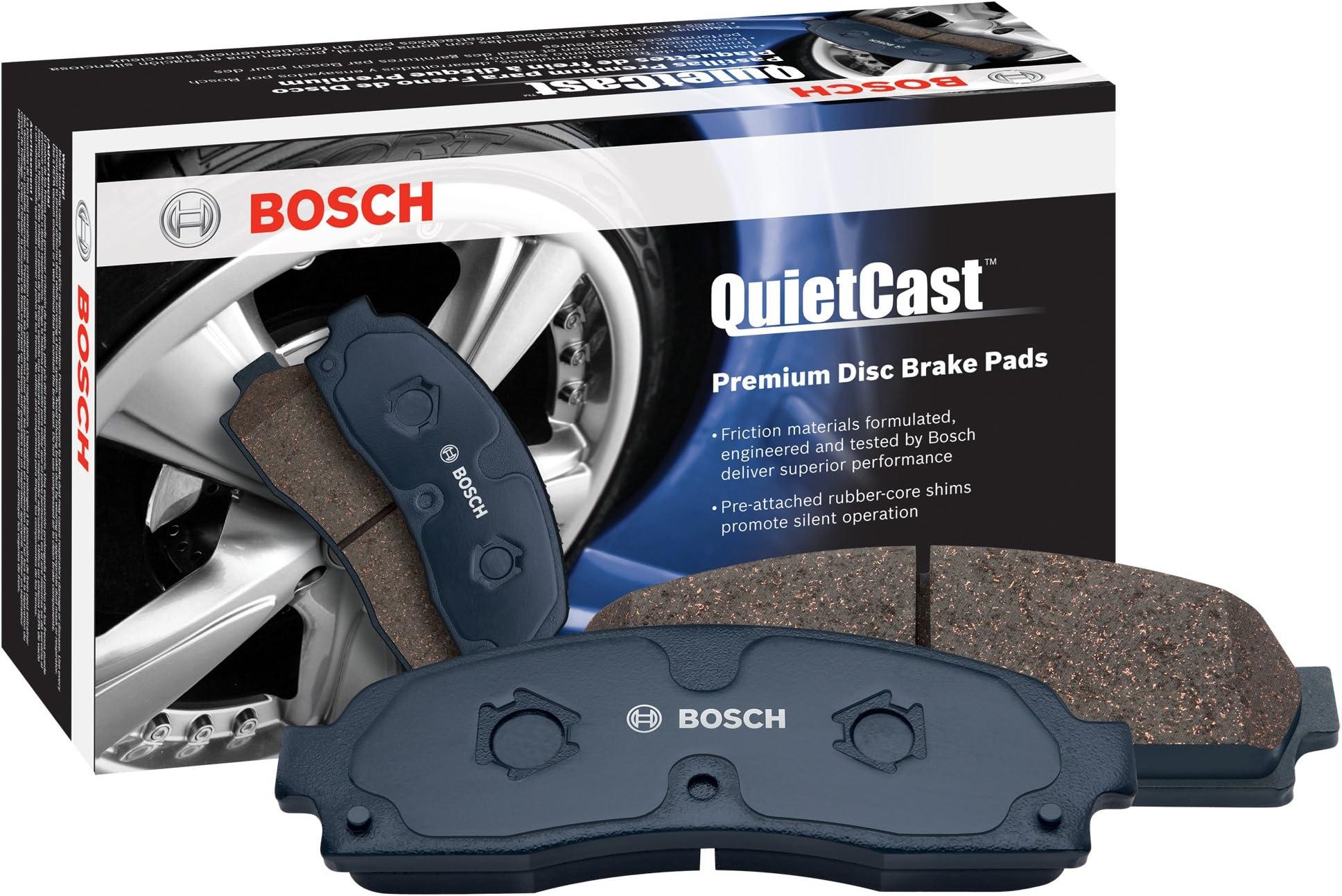 Bosch BP1316 QuietCast Premium Semi-Metallic Disc Brake Pad Set For Select Dodge Sprinter 2500; Freightliner Sprinter 2500; Mercedes-Benz Sprinter 2500; Volkswagen Crafter; Front