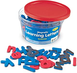Learning Resources Magnetic Learning Letters - Lowercase, Stick to Fridge, Ages 3+
