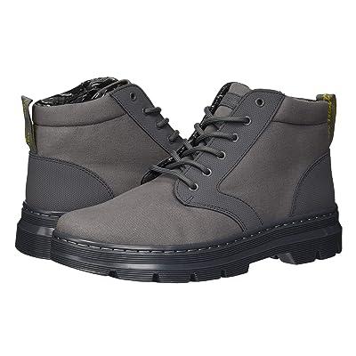 Dr. Martens Bonny II Tract (Grey Broder/Grey 10oz Canvas) Boots