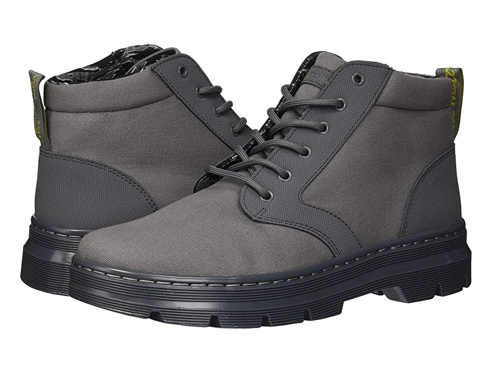 Dr. Martens Bonny II Tract (Grey Broder/Grey 10oz Canvas) Boots