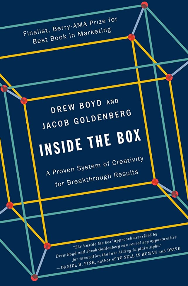 つぼみ本を読む回答Inside the Box: A Proven System of Creativity for Breakthrough Results (English Edition)