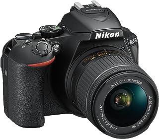 Nikon D5600 + AF-P DX 18-55mm VR + 8GB SD Juego de cámara SLR 242 MP CMOS 6000 x 4000 Pixeles Negro - Cámara Digital (242 MP 6000 x 4000 Pixeles CMOS Full HD Pantalla táctil Negro)