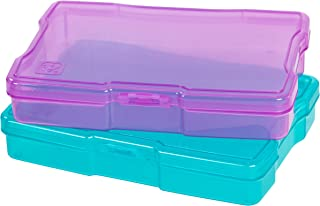 IRIS USA, Inc. KP-PC Photo and Craft Case, Pack, Assorted Colors, 4