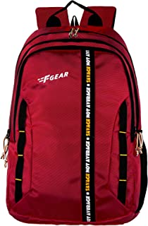 F Gear Raider Guc Red 30 Ltrs Casual Backpack (3307)