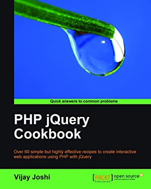 PHP jQuery Cookbook