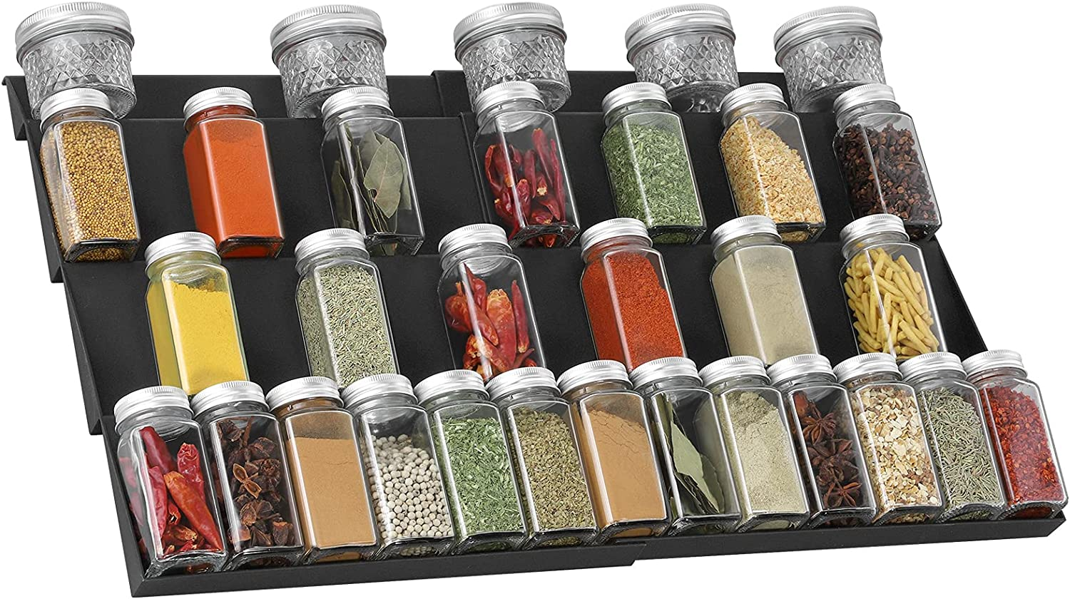 QIZENME Spice Rack Plastic Drawer Kitchen Ranking TOP19 D Organizer for cheap