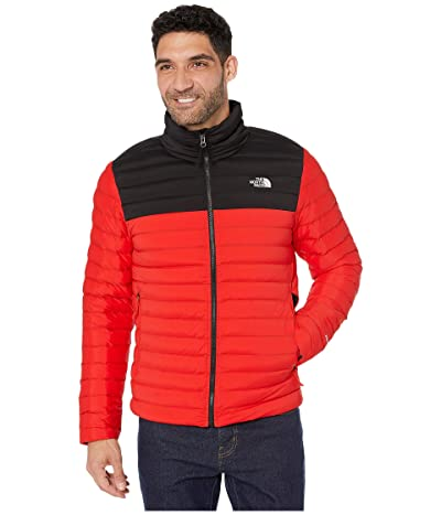 The North Face Stretch Down Jacket (Fiery Red/TNF Black) Men