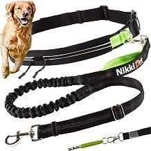 Correa de paseo Nikkipet I Correa deportiva para perros I Correa para perros grandes y medianos I Cinturón para perros I Cinturón abdominal hidrófugo para perros I silbato de perro gratis
