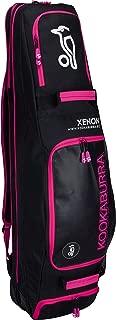 Best Soccer Buys Field Hockey Bag Luggage Xenon by Kookaburra (Black & Pink)