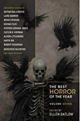 Best Horror of the Year (Best Horror of the Year Series Book 7) Kindle Edition
