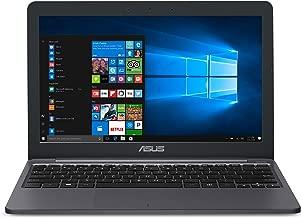 "ASUS VivoBook L203MA Ultra-Thin Laptop, Intel Celeron N4000 Processor, 4GB RAM, 64GB eMMC storage, 11.6"" HD, USB-C, Wi-Fi 5, Windows 10, L203MA-DS04, One Year of Microsoft Office 365"