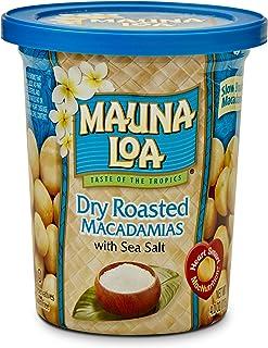 Mauna Loa Dry Roasted Macadamia Nuts 4oz Cup (Single Cup)