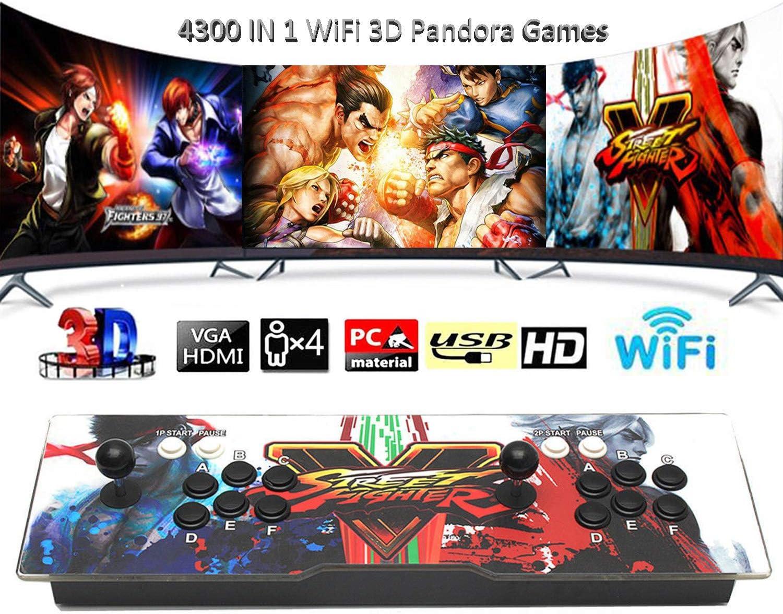 BSEND 4300 Ranking TOP18 Games in 1 Classic Pando WiFi Arcade Game Brand Cheap Sale Venue 3D Console