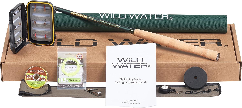 Wild Water Tenkara 12' Rod Fly Fishing Complete Starter Package