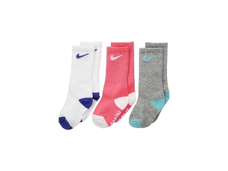 Nike Kids - Nike Kids 3-Pack Verbiage High Crew Socks