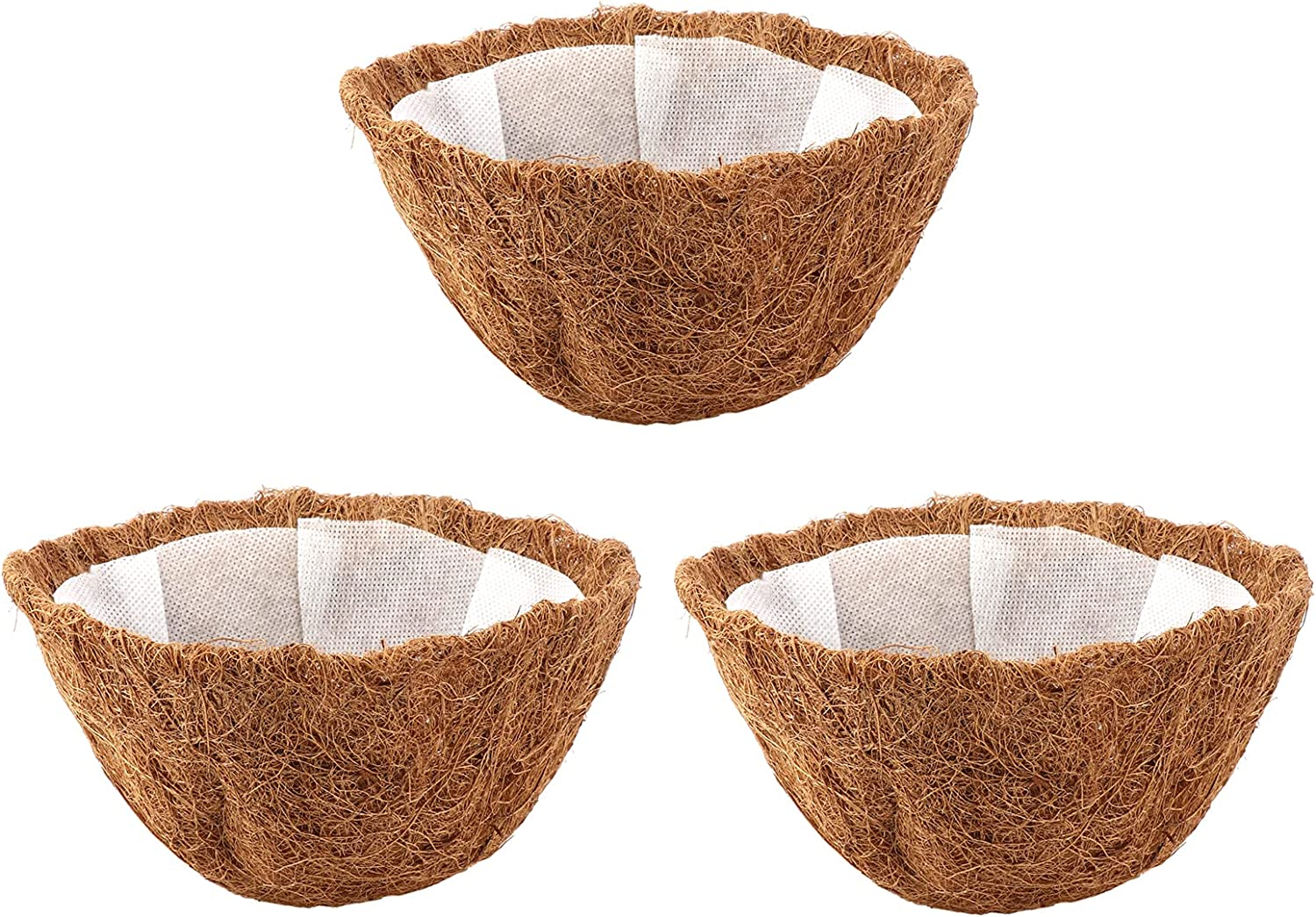TITA-DONG 10in Natural Coco Liner wit Recommended Fiber Pcs Time sale 3 Coconut