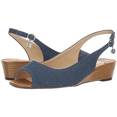 J. Renee Alivia (Blue/Silver/Cuoio) High Heels