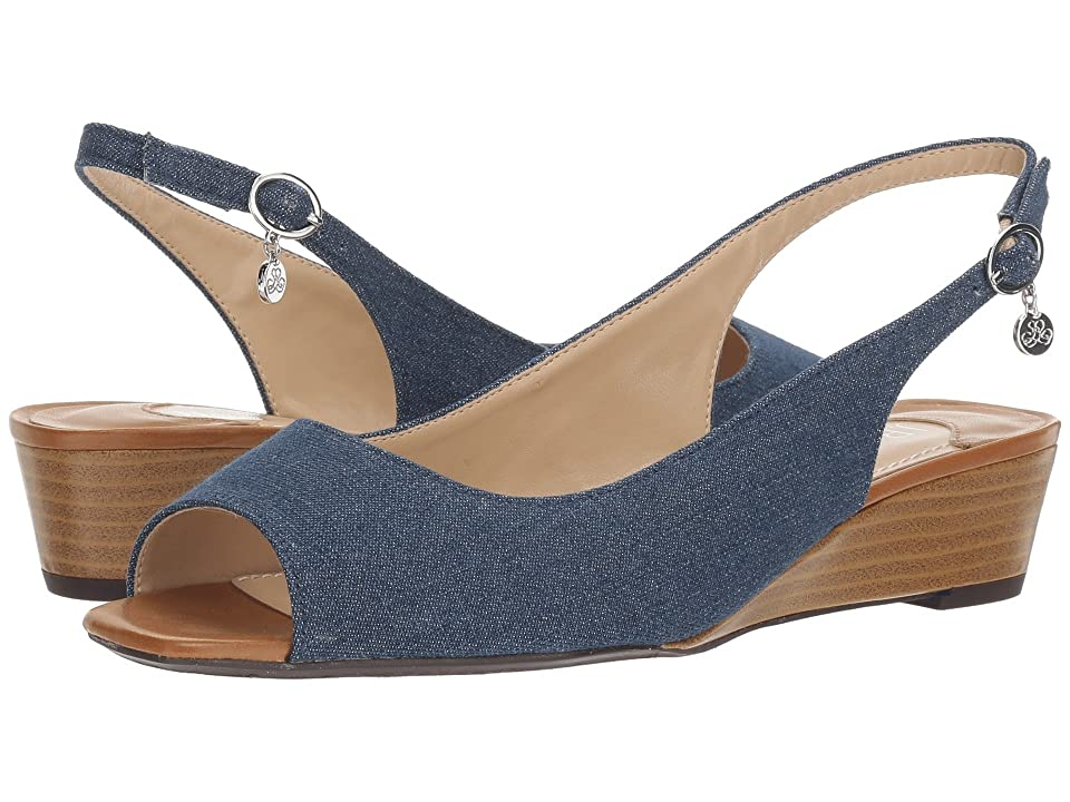 J. Renee Alivia (Blue/Silver/Cuoio) High Heels