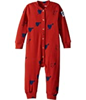 mini rodini - Heart Rib Jumpsuit (Infant)