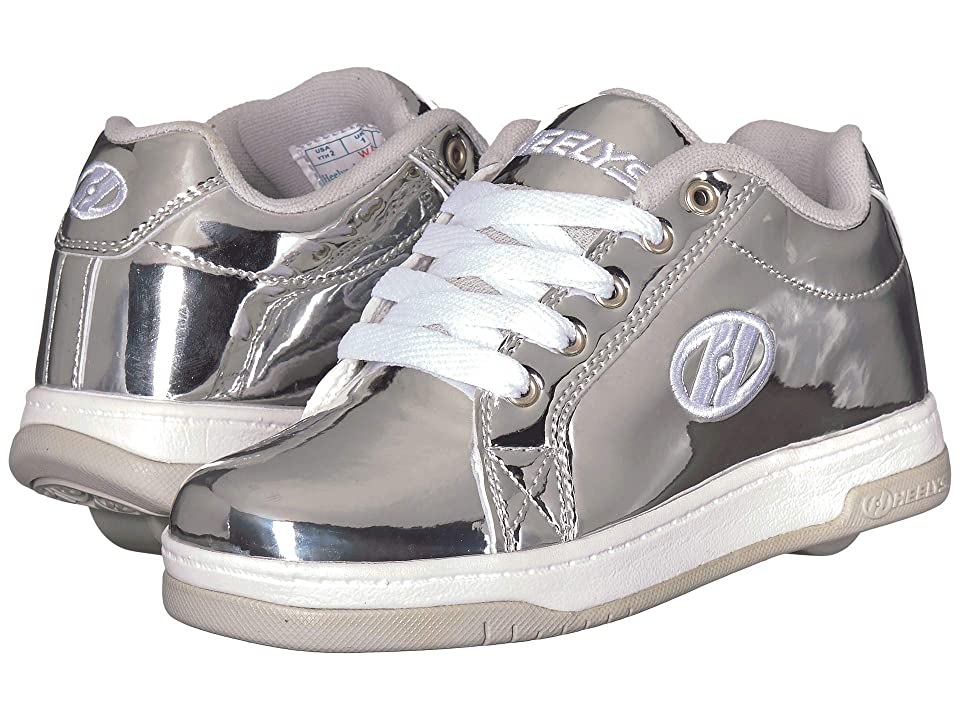 Heelys Split (Little Kid/Big Kid/Adult) (Silver Chrome) Kids Shoes