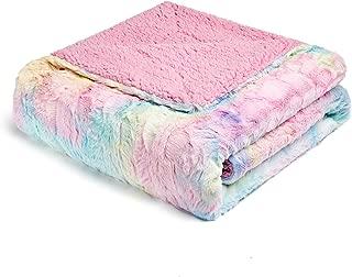 FFLMYUHUL I U Super Soft and Warm Bed Linen Nap Blanket Bedspread Blanket Luxury Throw Blanket Decorative for Bedroom Sofa Floor Multi Color