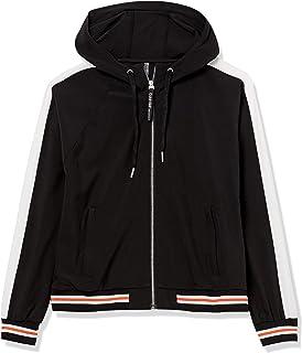 Calvin Klein Women's Storm Guard Spectator Jacket, BLK - Black, Large
