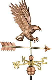 Good Directions 1969P American Bald Eagle Copper Weathervane