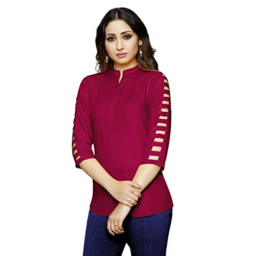 fbc8c0359fb Women's Stylish Tops: Buy Women's Stylish Tops Online at Best Prices ...