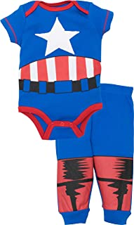 Avengers Baby Boys' Bodysuit & Pants Clothing Set